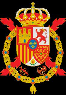 Escudo de Juan Carlos I de España