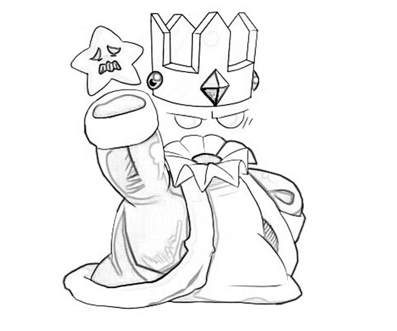crystal-king-star-coloring-pages