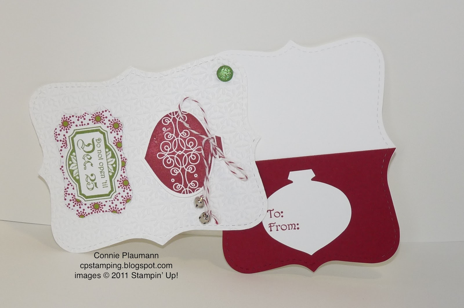Creative Possibilities: Top Note Gift Card Holder