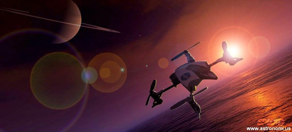 NASA Akan Gunakan Helikopter Tanpa Awak untuk Jelajahi Titan