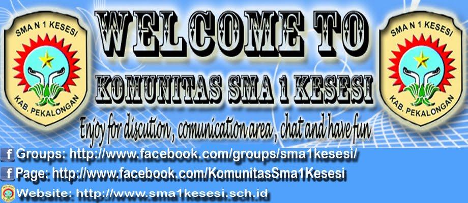 Komunitas SMA 1 Kesesi Blog's