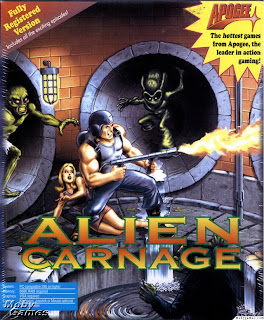 Alien Carnage pc old game cover