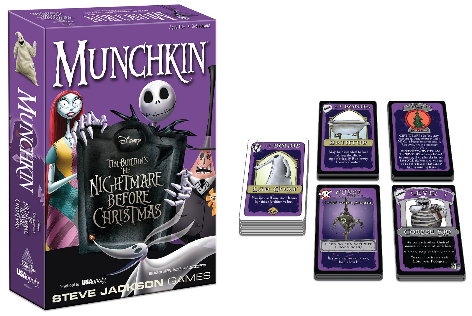 ACD Distribution Newsline: New from Steve Jackson Games and USAopoly ...