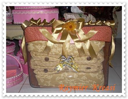 Hantaran Bed Cover Tanpa Keranjang Box