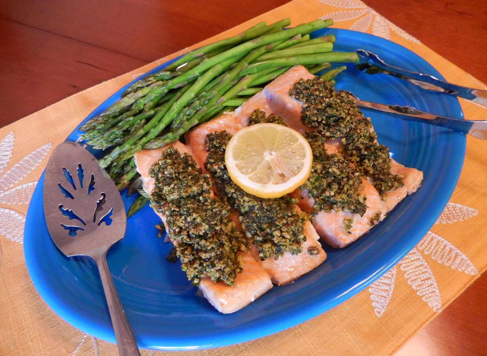 Blue%2BDiamond%2BEggface%2BSalmon%2BHoney%2BDijon%2BGremolata%2BEaster Weight Loss Recipes Easy, Elegant, Healthy and DELICIOUS Easter Dinner
