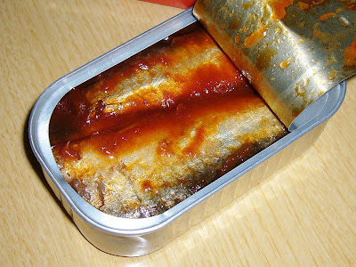 納豆にタビィ・サーディンinトマトソース