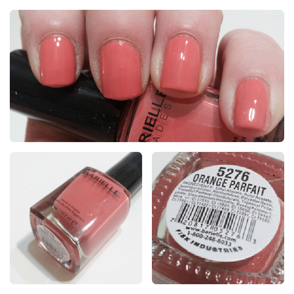 Barielle Orange Parfait Swatch