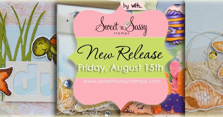 Sweet 'n Sassy Stamps: August 2014 Release Blog Hop ...