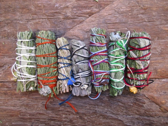 Wiccan Moonsong Make Your Own Smudge Sticks