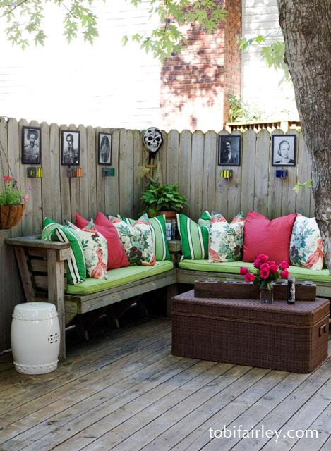 18 Best DIY Outside Seating Ideas Do It Yourself