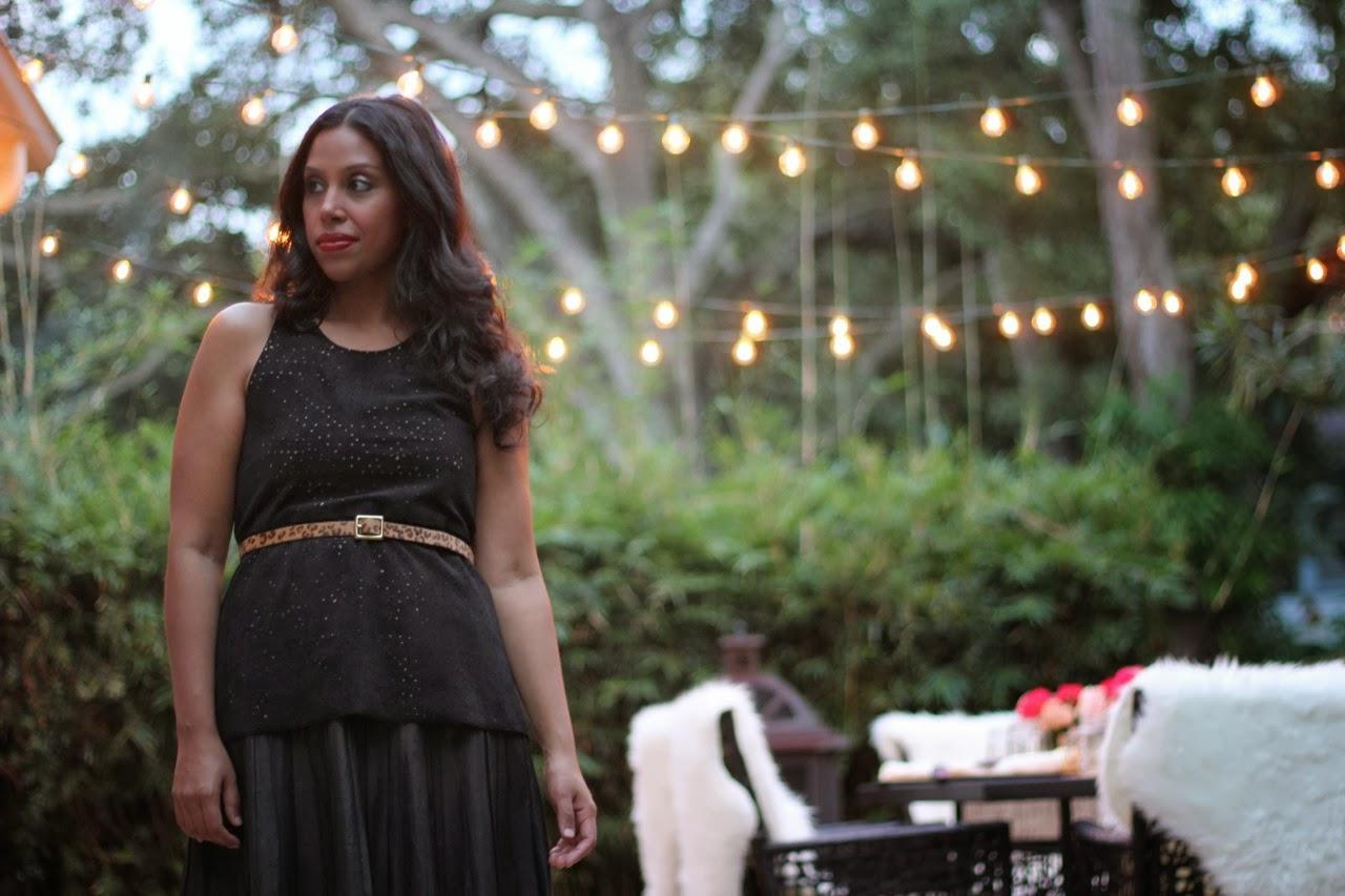 leather parker dress mini skirt bcbg suede top gladiator sandal cafe lights