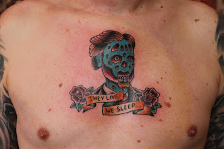 they live tattoo, tattoo, fan tattoo, geek tattoo, pop culture tattoo, traditional tattoo, roddy pipper, horror tattoo, sci-fi tattoo, horror, sci-fi, tattoo design cincinnati, cincinnati tattoo, best cincinnati tattoo, nightshade ink, nightshade ink tattoo