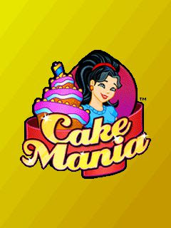 Screenshots of the Cake mania for java mobile, phone.