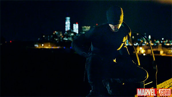 imagen oficial de Charlie Cox como Daredevil