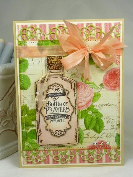 ODBD Joy in a Jar, ODBD Apothecary Bottles, ODBD Custom Apothecary Bottles Dies, Card Designer Becky T