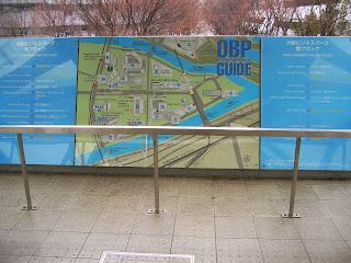 大阪府大阪市中央区城見・OBP(大阪ビジネスパーク) map