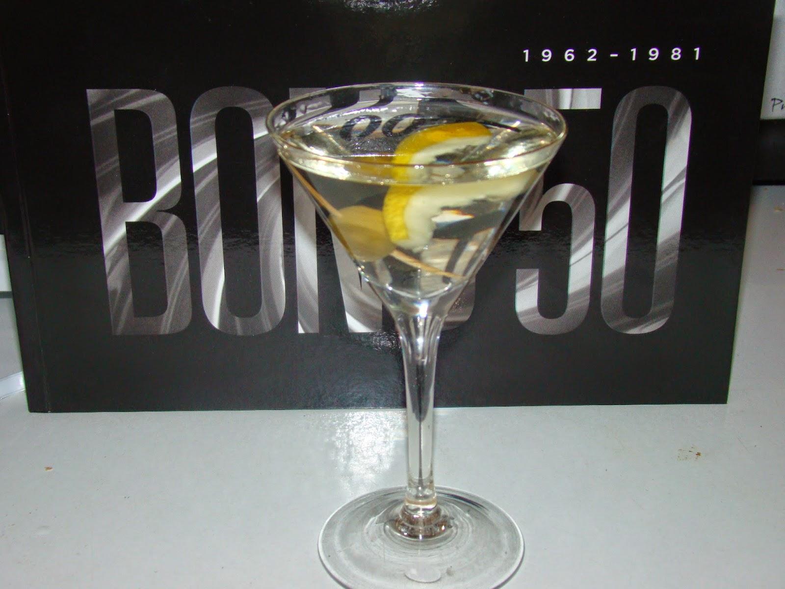 agent 007 martini