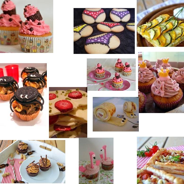 ninas kleiner foodblog, ninas kleiner foodblog collage, ninas kleiner foodblog essen, cupcakes, foodblog, food collage, cupcakes collage tumbrl, tanga kekse, cupcake im cupacke,