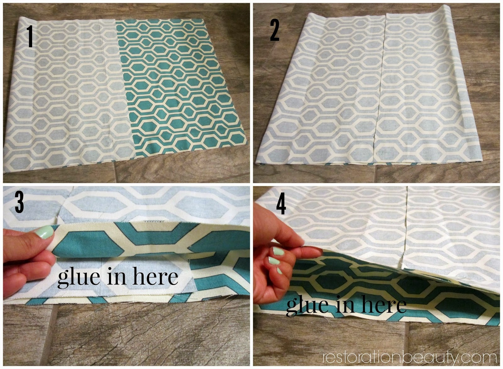Restoration Beauty Easier Than Ever No Sew Floor Pillows