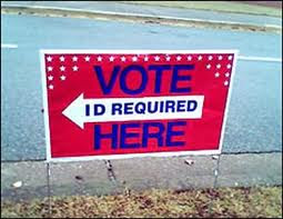 Voter ID Vote Today...