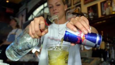 Bebidas energéticas y alcohól