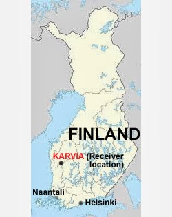 Receiver location - Karvia