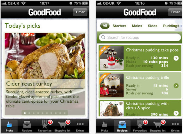Good Food Festive Recipes screenshot