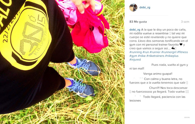 Running lesion mujeres que corren