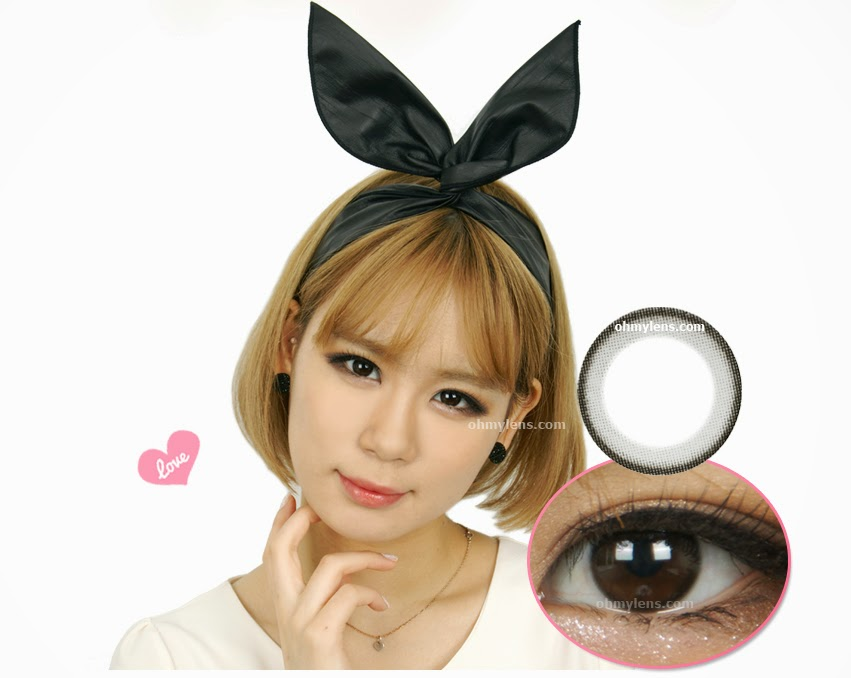 Simple Black Contact Lenses at ohmylens.com
