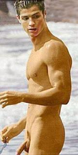 Naked Cristiano Ronaldo Cock