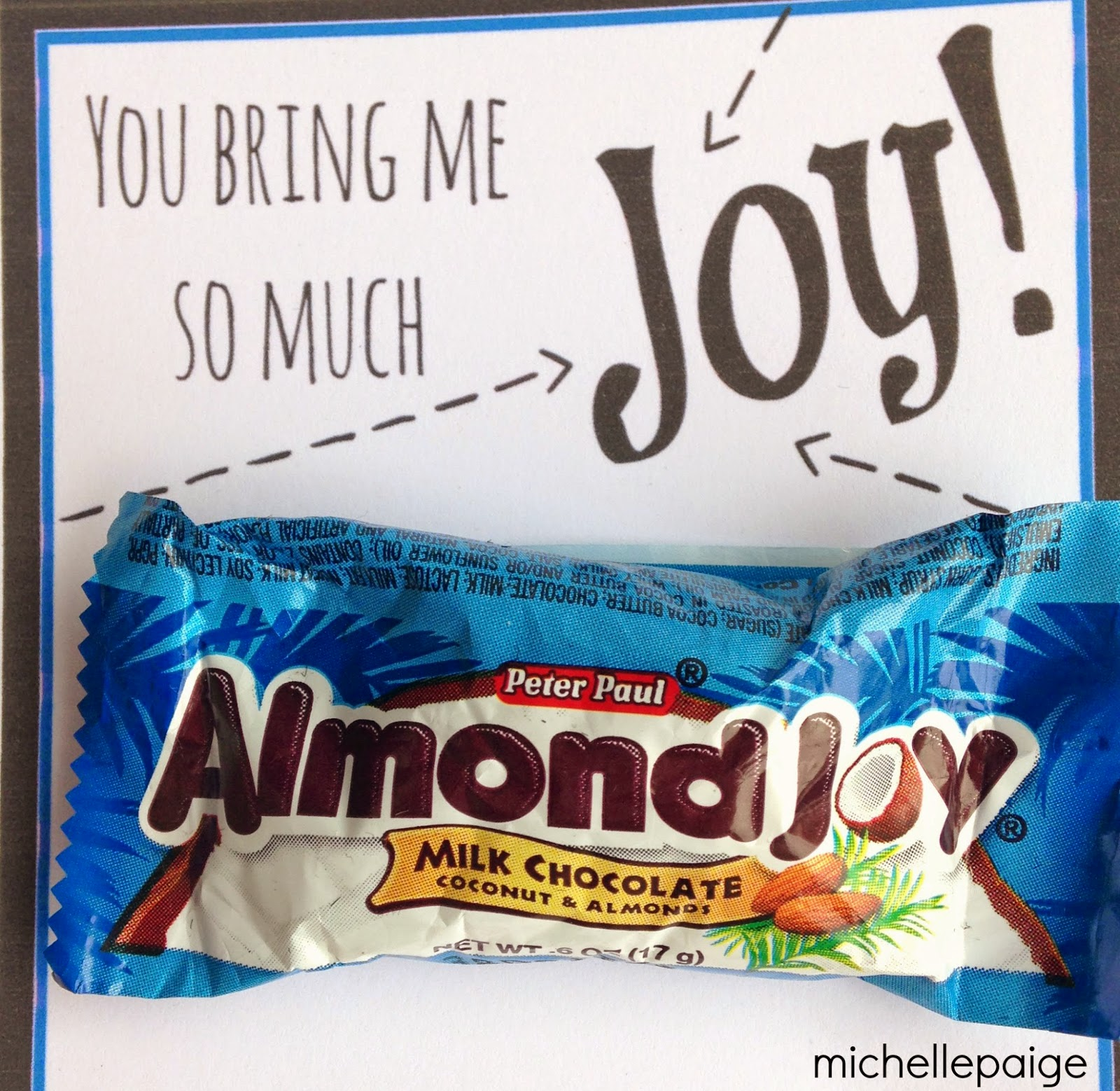 michelle paige blogs: You Bring Me Joy Thank You with ...