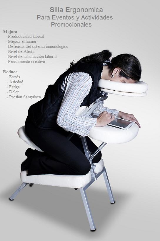 Alquiler de sillas para masajes - Sillas masaje ...