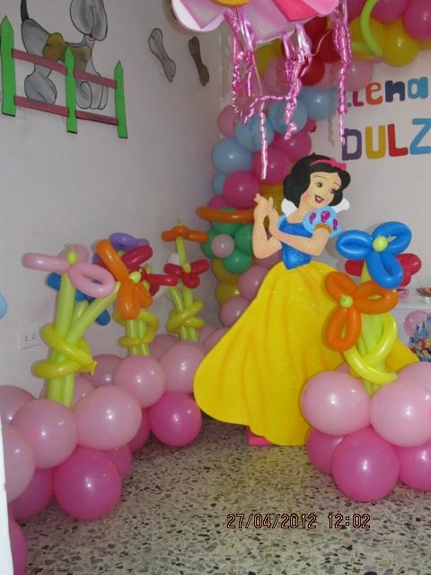 Fiesta tematica princesas de disney fiestas tematicas - Decoracion fiesta princesas disney ...