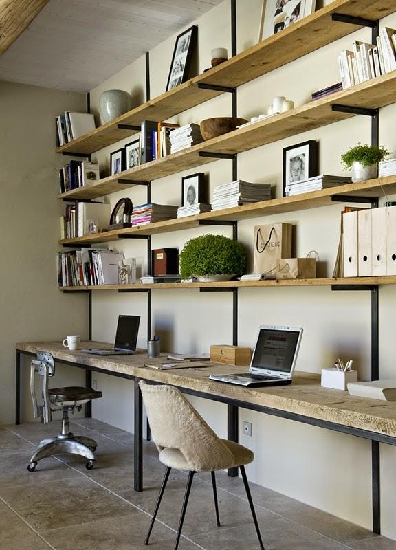 Home challenge un bureau chez soi for Idee pour travailler chez soi