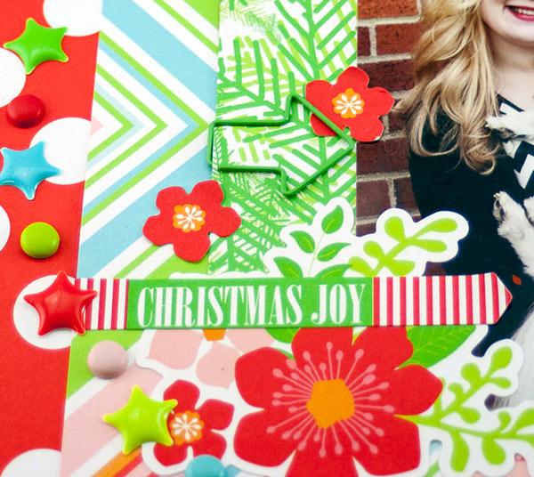 Allie Stewart Chickaniddy Crafts December Layout Sketch close-up2