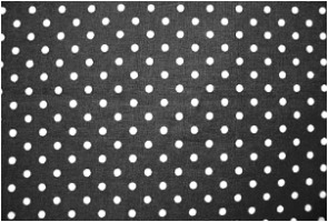 polka dot fabric swatch