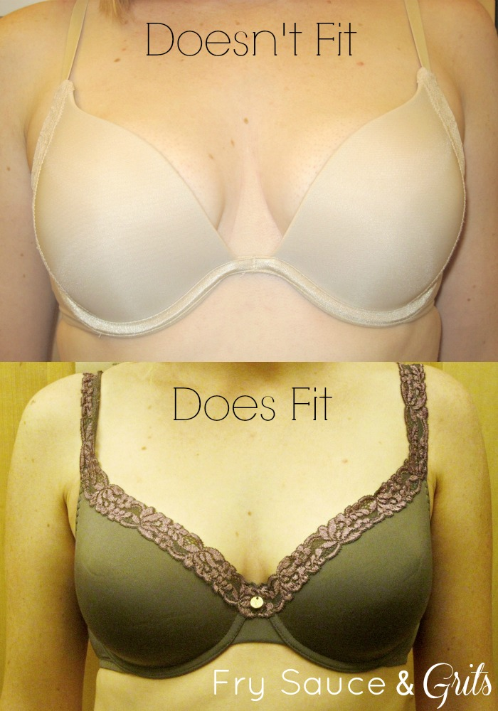 Bra Size Calculator from FrySauceandGrits.com