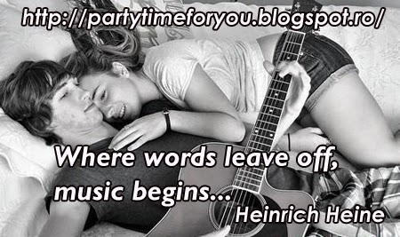 Where words leave off, music begins...