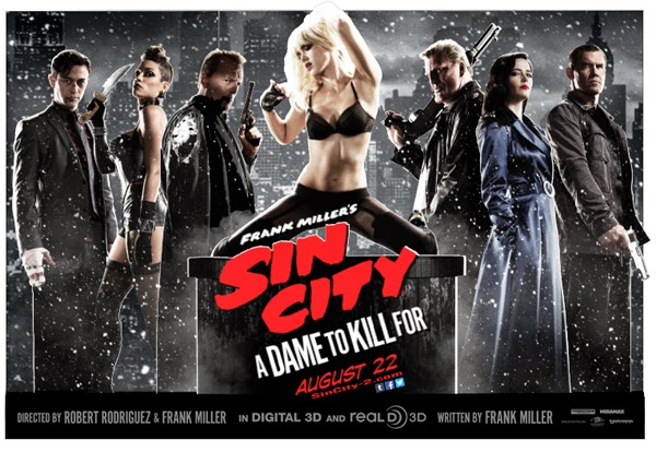 Sin City 2: A dame to kill for (2014) de Robert Rodriguez.