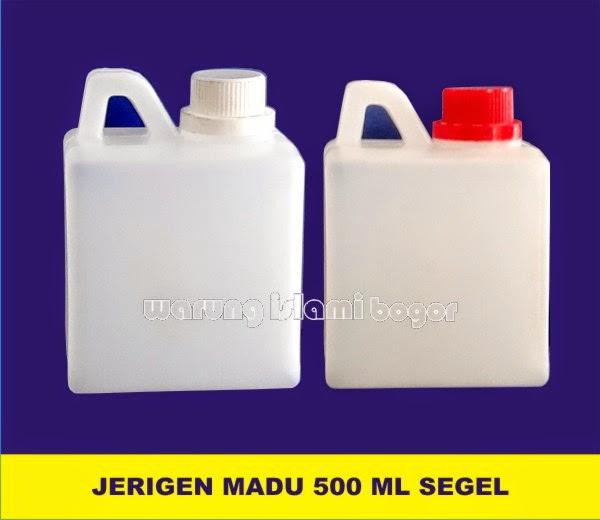 Jual Jerigen Plastik 0.5 kg Tutup Segel