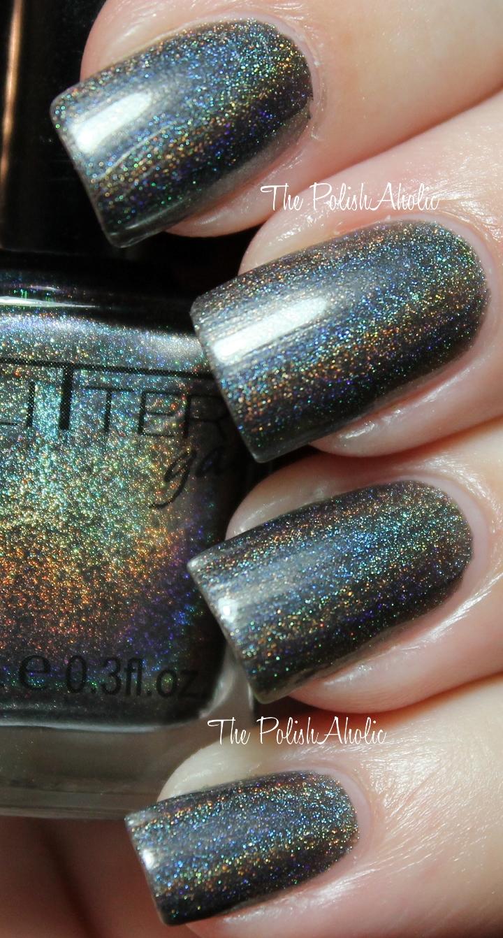 The PolishAholic: Glitter Gal 10 to Midnight