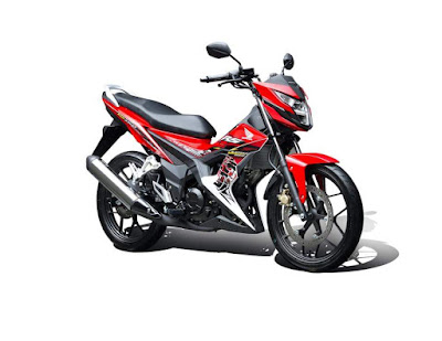 Honda RS150 red