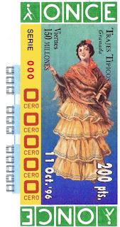 Traje típico de Granada - Mujer - Cupones ONCE 1996
