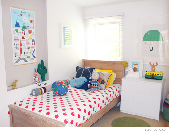 Bondville fun bright two year old boy 39 s room instagram for 12 year old boys bedroom designs