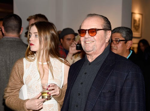 Rare sight: Jack Nicholson and his daughter | Together in Los Angeles
