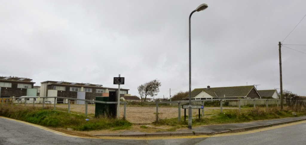 The site of an old Arnold Palmer Crazy Golf course in Camber Sands. Now just a patch of dusty gravelly land used as a car park. A real shame