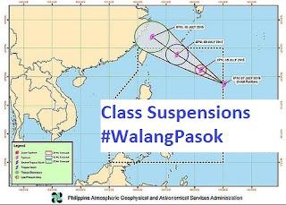 Class suspension wlang pasok