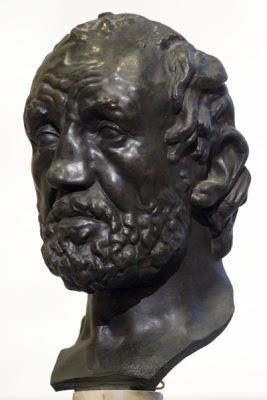 L'home del nas trencat, Auguste Rodin