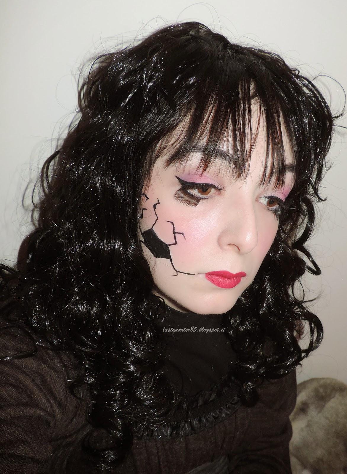 Make Up Halloween: Broken Doll.