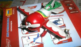 Самолёт Эль Чупакабра из мультфильма Самолёты сборная модель